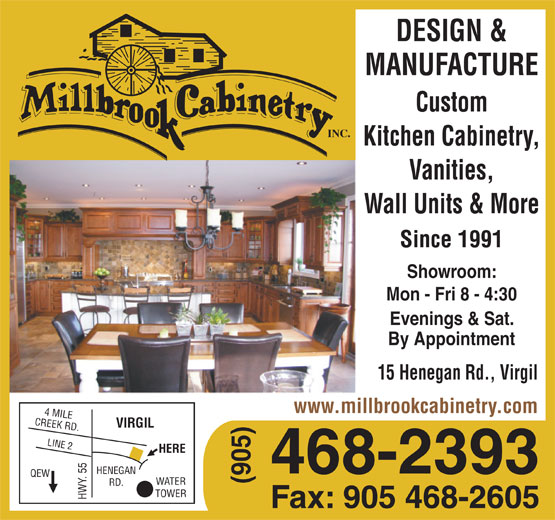 Ads Millbrook Cabinetry Inc
