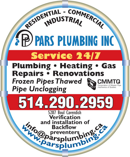 Ads Pars Plumbing Inc