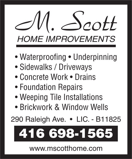 Ads A Home Improvements M Scott