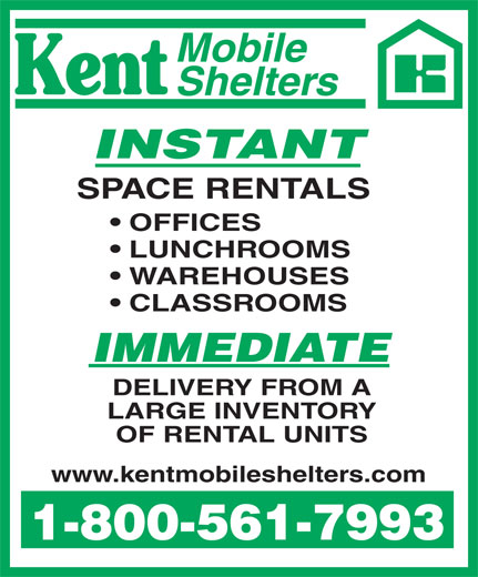 Ads Kent Mobile Shelters