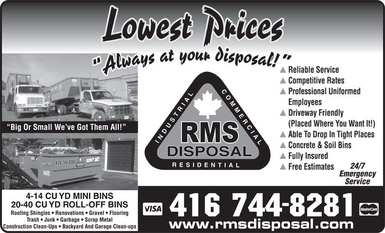 Ads RMS Disposal