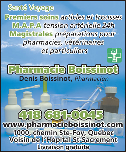 Ads Pharmacie Boissinot