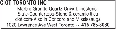 Ads Ciot Toronto Inc