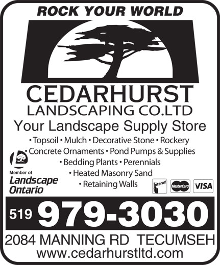 Ads Cedarhurst Landscaping Co Ltd