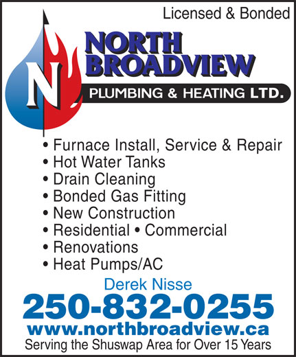 Ads North Broadview Plumbing &amp; Heating