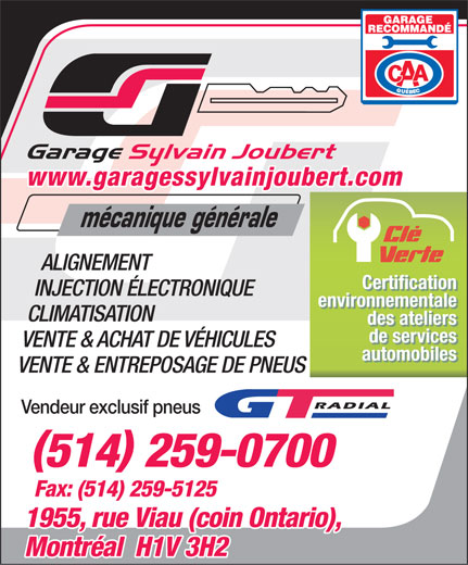 Ads Garage Sylvain Joubert