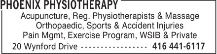 Ads Phoenix Physiotherapy