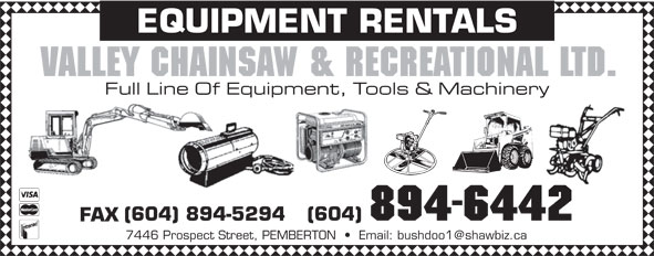 Ads Valley Chainsaw & Recreational Ltd