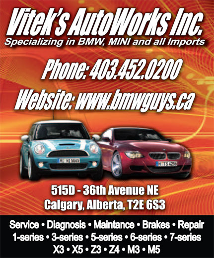 Ads Vitek&#039;s Autoworks Inc