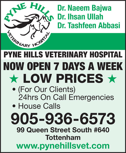Ads Pyne Hills Veterinary Hospital