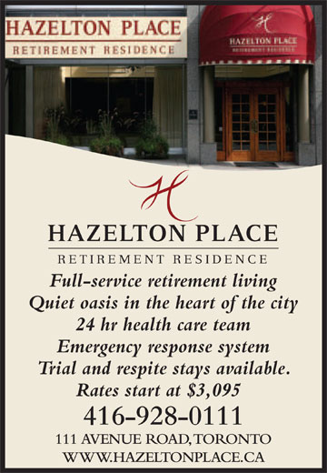 Ads Hazelton Place