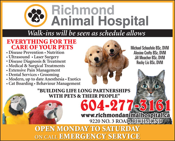 Ads Richmond Animal Hospital Ltd