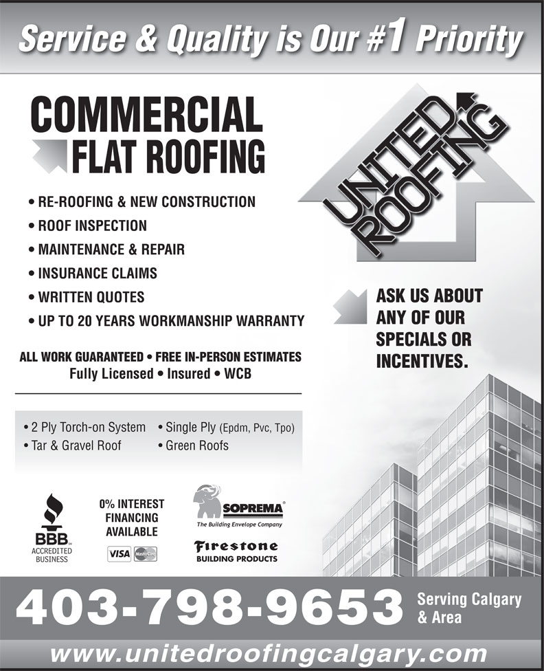 Ads United Roofing