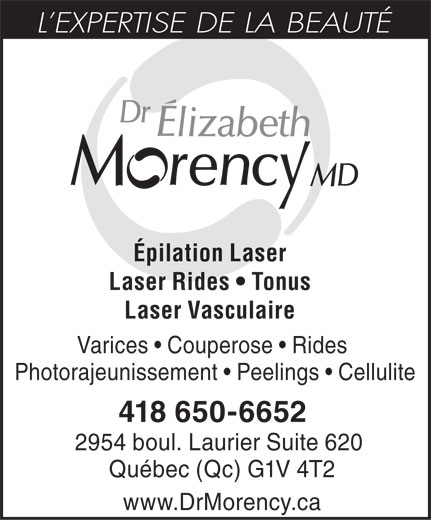 Ads Dr Elizabeth Morency MD