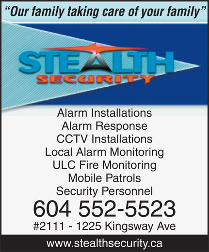 Ads Stealth Security Inc