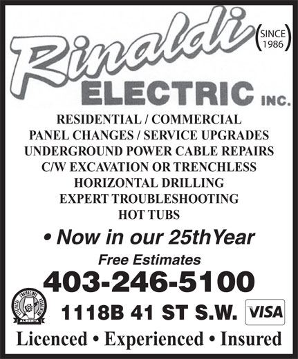 Ads Rinaldi Electric Inc