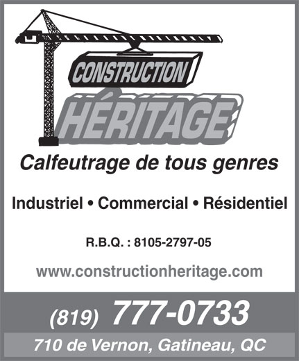 Ads Construction Héritage