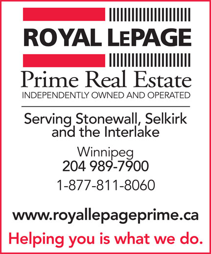 Ads Royal LePage Prime Real Estate