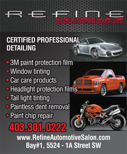 Ads Refine Automotive Salon Ltd