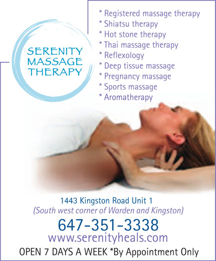 Ads Serenity Massage Therapy