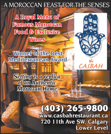 Ads Casbah Restaurant