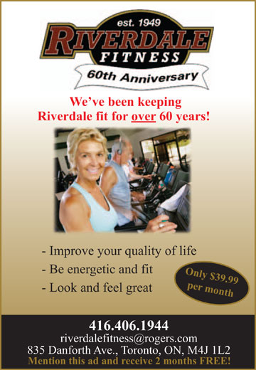 Ads Riverdale Fitness
