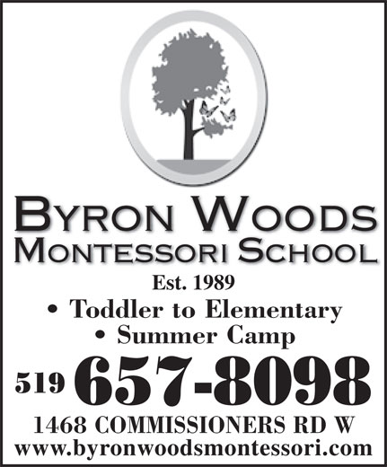 Ads Byron Woods Montessori School