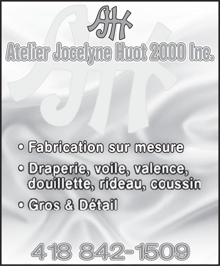 Ads Atelier Jocelyne Huot 2000 Inc