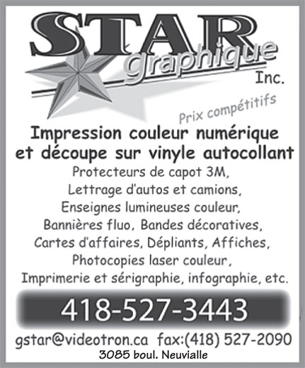 Ads Star Graphique Inc