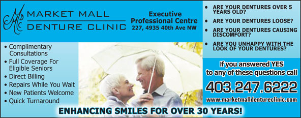 Ads Market Mall Denture Clinic