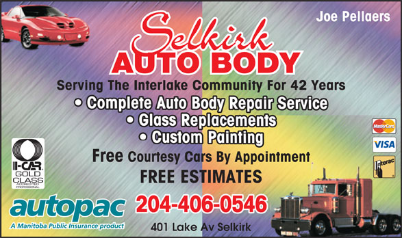 Ads Selkirk Auto Body