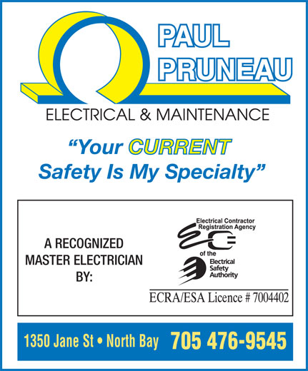 Ads Pruneau Paul Electrical & Maintenance