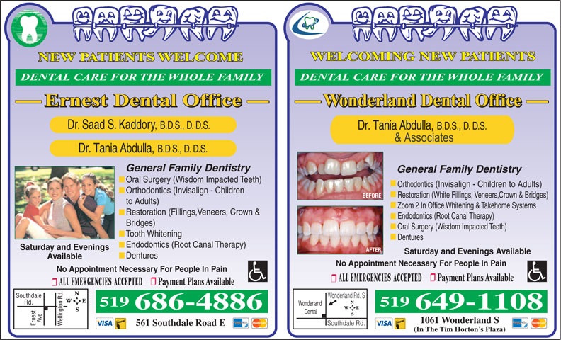 Ads Ernest Dental Office