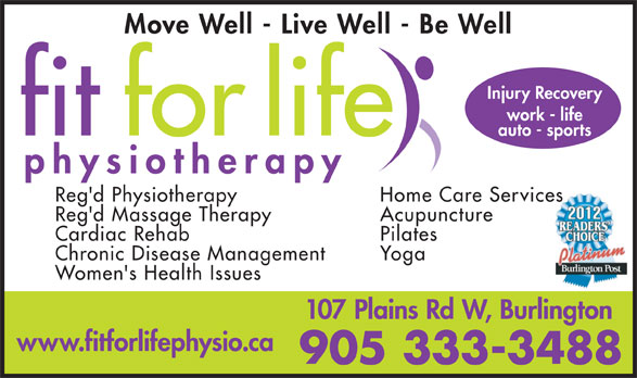 Ads Fit For Life Physiotherapy