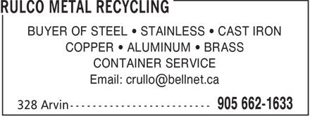 Ads Rulco Metal Recycling