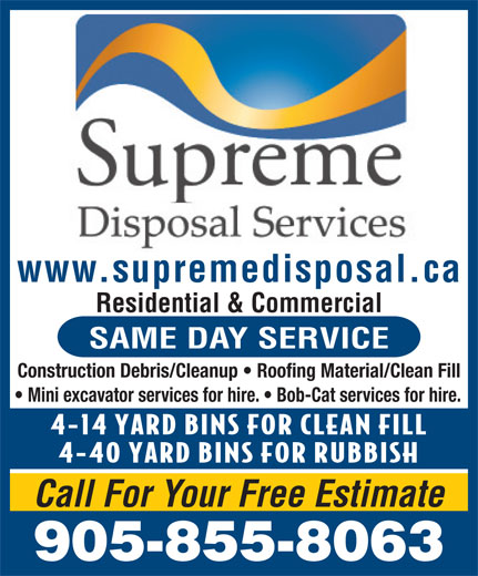Ads Supreme Disposal Services