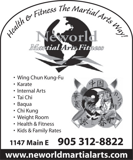 Ads Neworld Martial Arts Fitness