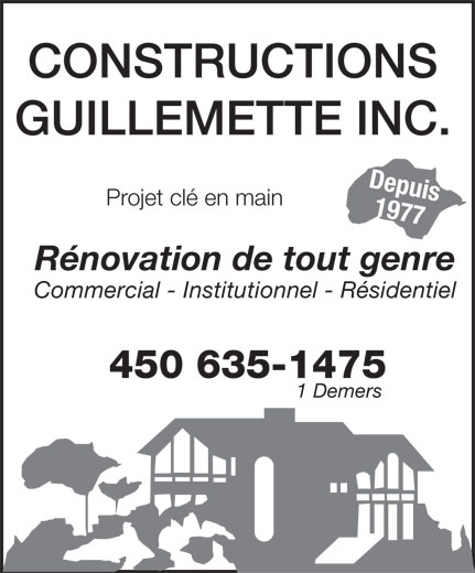 Ads Constructions Guillemette Inc