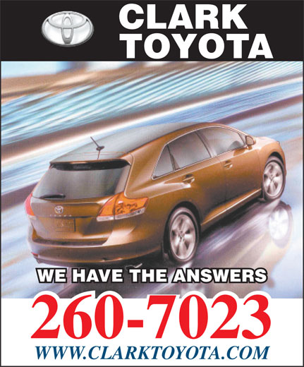 Ads Clark Toyota