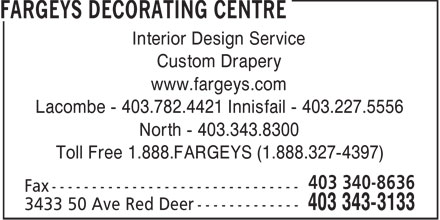 Ads Fargeys Decorating Centre