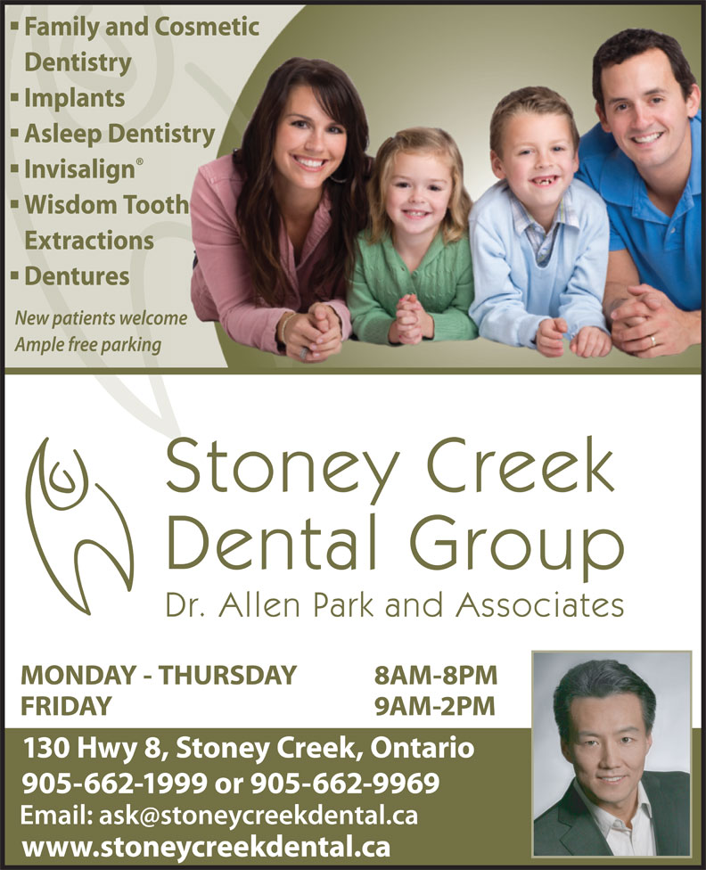 Ads Stoney Creek Dental Group