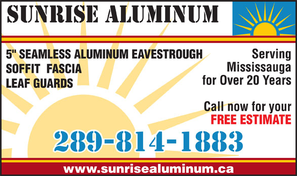 Ads Sunrise Aluminum