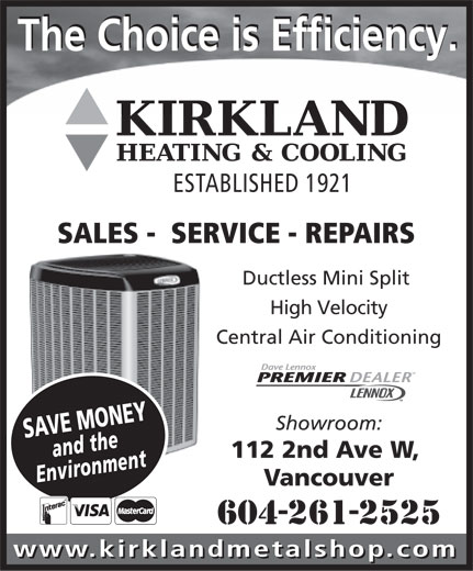Ads Kirkland Metal Shop Ltd