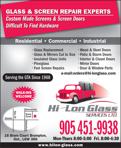 Ads Hi-Lon Glass Services Ltd