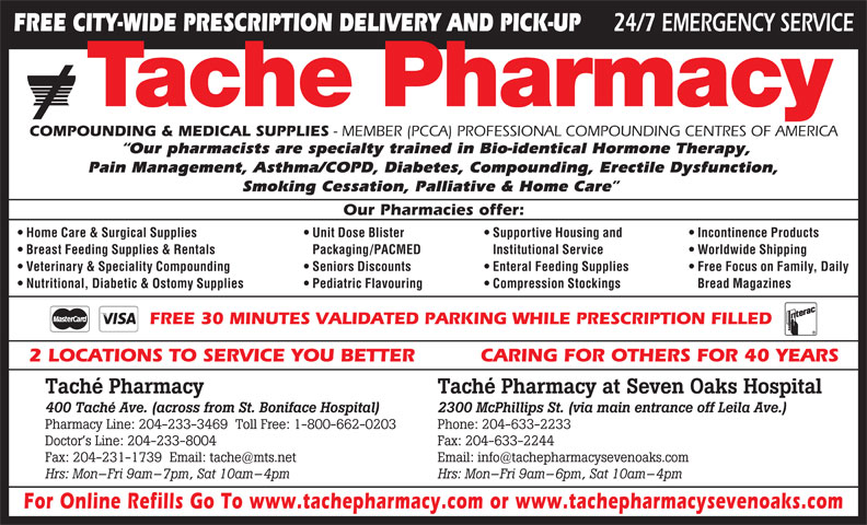 Ads Tache Pharmacy &amp; Medical Supplies