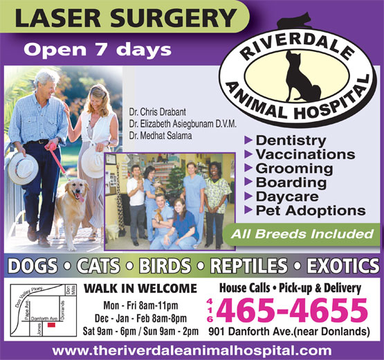 Ads Riverdale Animal Hospital