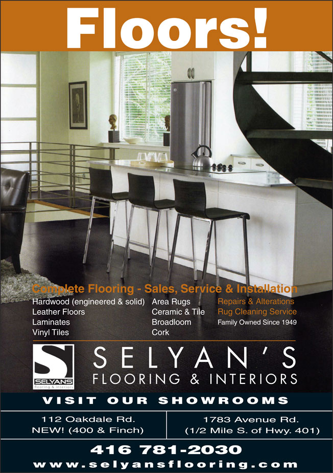 Ads Selyans's Flooring Inc