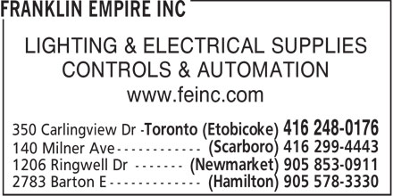 Ads Franklin Empire Inc