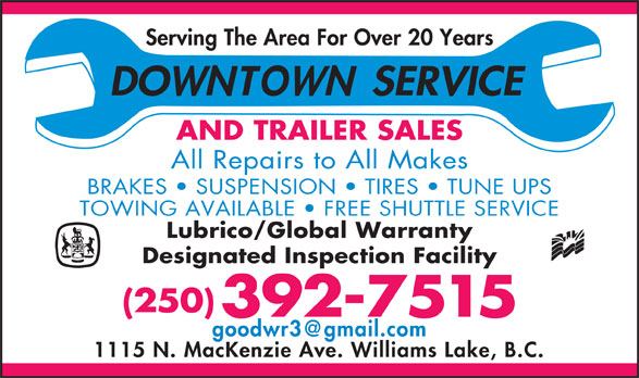 Ads Downtown Service