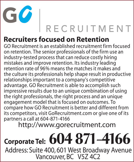 Ads Go To Recruiters
